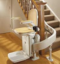Acorn 80 Curved Stair Lift
