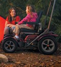 Permobil's Outdoor Chair